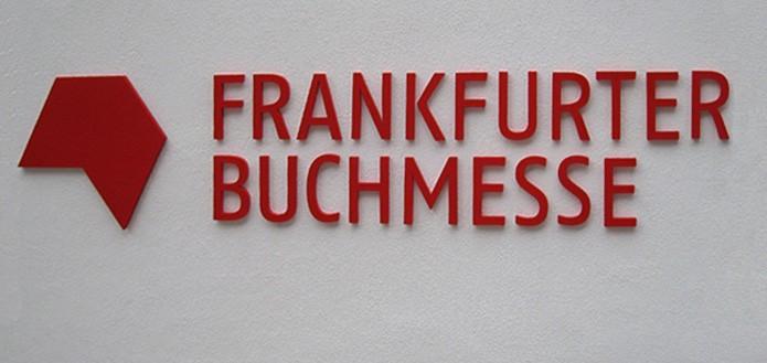 3D-Typo Frankfurter Buchmesse