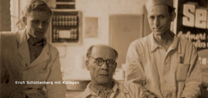 Erich Schüttenberg mit Kollegen